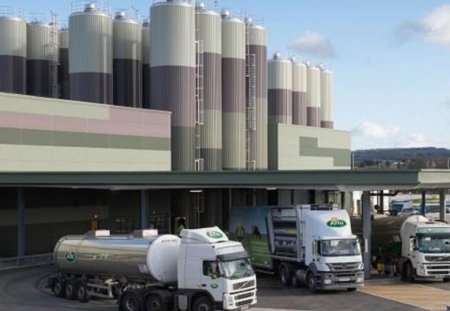 ARLA Dairy, ARLA, ARLA Foods, industrial, food processing, Adept, leeds engineer, civil engineer