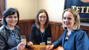 Alison Stuart, Linda Davies, Heather Roberts