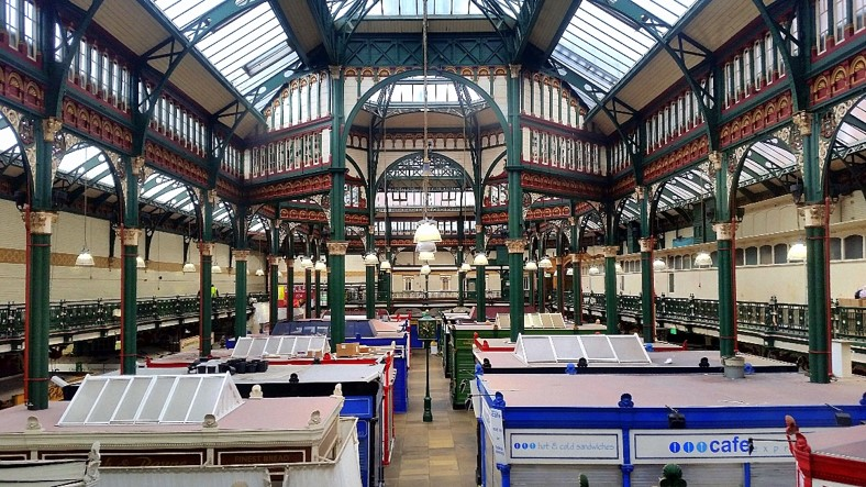 leeds kirkgate market, kirkgate, market, leeds, engineer, adept, historic, listed, grade II, structural engineer, civil engineer, BIM, engineer london, engineer leeds, engineer manchester, roof, refurbishment, M&S