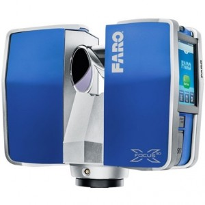 faro 3d point cloud laser scanner