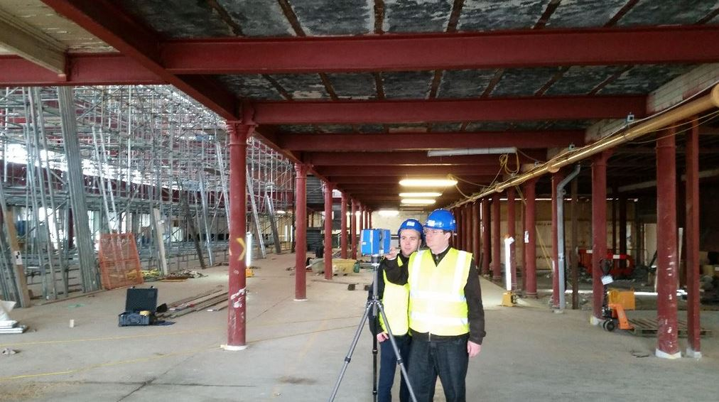 3D Laser Point Cloud Scanning - Adept Consulting Engineers