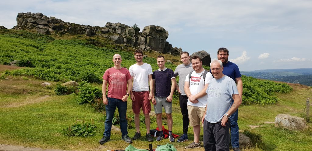 Adept, Adept engineers, volunterring, ilkley moor